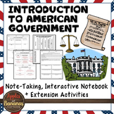 Introduction to American Government Interactive Note-taking Activities