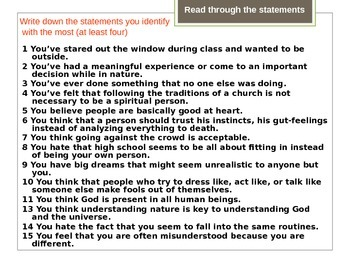Introduction to American Transcendentalism
