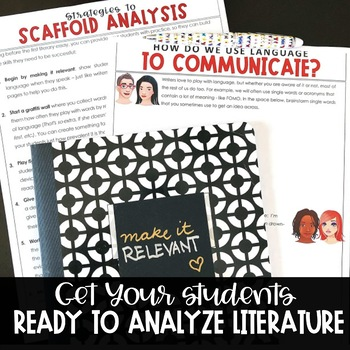 Introduction to Analyzing Literature