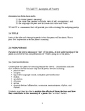 Introduction to Analyzing Poetry Worksheet