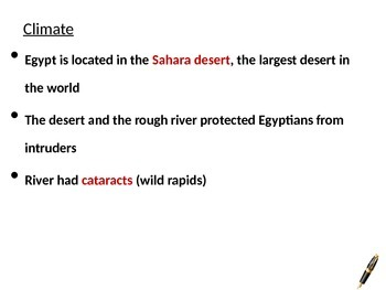 Introduction to Ancient Egypt PowerPoint