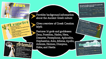 Introduction to Ancient Greek Mythology Presentation