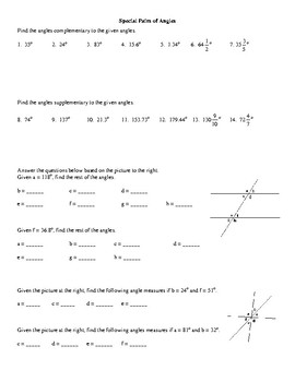 Introduction to Angles Classifying