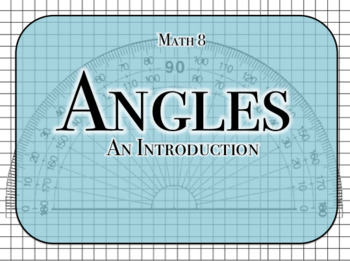 Introduction to Angles Powerpoint