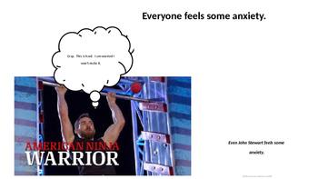 Introduction to Anxiety using American Ninja Warrior