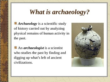 Archaeology - An Introduction PowerPoint