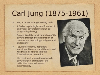 Introduction to Archetypes and and Carl Jung