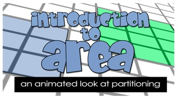 Introduction to Area: An animated look at partitioning (2.G.A.2)