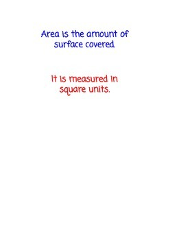 Introduction to Area & Perimeter