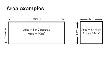 Introduction to Area and Perimeter- 5 Lessons- Grades 3 and 4