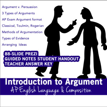 Introduction to Argument; AP English Language, Classical, Toulmin, Rogerian