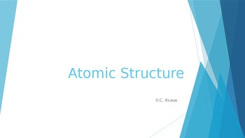 Introduction to Atomic Structure