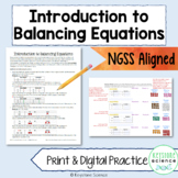 Introduction to Balancing Equations Chemistry