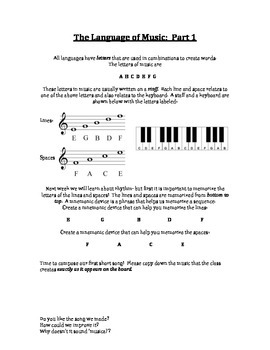 Introduction to Basic Composition Worksheet