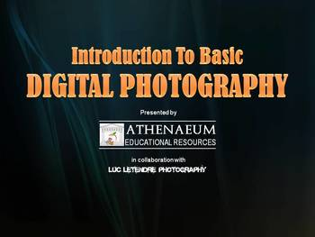 Introduction to Basic Digital Photography