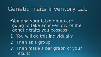 Introduction to Basic Genetics and Activity