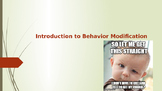 Introduction to Behavior Modification for Autism