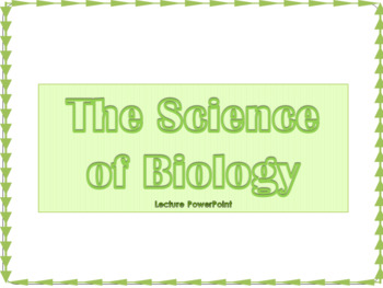 Introduction to Biology Lecture