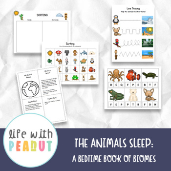 Introduction to Biomes for Preschoolers, A Bedtime Book of Biomes Unit Study