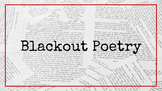 Introduction to Blackout Poetry