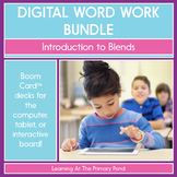 Introduction to Blends - Digital Phonics Activities   BOOM Cards™