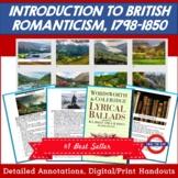 Introduction to British Romanticism, 1798-1850
