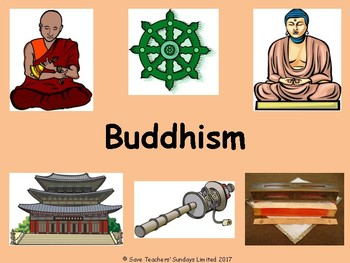 Introduction to Buddhism Lesson plan, PowerPoint and Worksheets