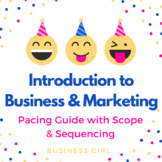 Introduction to Business/ Marketing Curriculum Pacing Guide (Scope + Sequencing)