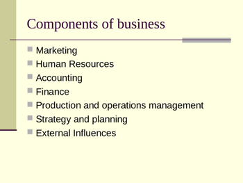 Introduction to Business PPT