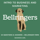 Introduction to Business and Marketing Bellringers