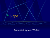 Introduction to Calculating Slope