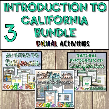 Introduction to California Unit Bundle {Digital}