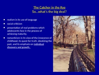 Introduction to Catcher in the Rye