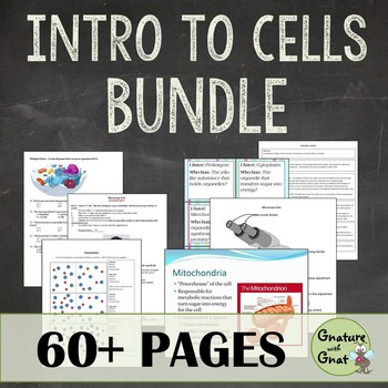 Introduction to Cells Bundle: PowerPoint, Labs, Activities, & Test