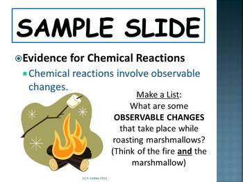Introduction to Chemical Reactions for Middle Schoolers