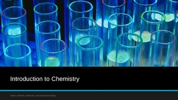 Introduction to Chemistry: Atoms, Elements, Molecules and Bonding
