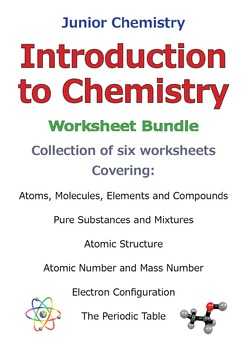 Introduction to Chemistry - Discount Bundle SAVE 40%