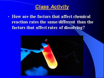 "Introduction to Chemistry Lesson I ""Formation of Solutions"""