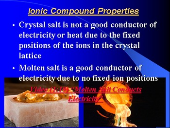 """Introduction to Chemistry Lesson I """"Ionic Bonding"""""""