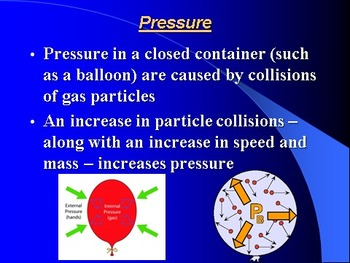 """Introduction to Chemistry Lesson II PowerPoint """"The Gas Laws"""""""