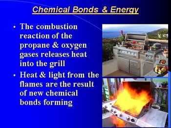 "Introduction to Chemistry Lesson III PowerPoint ""Energy Changes in Reactions"""