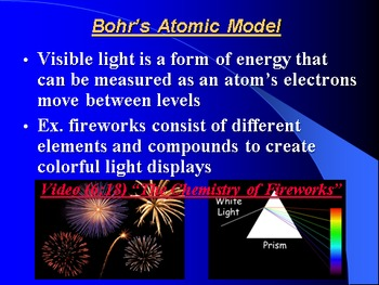 """Introduction to Chemistry Lesson III PowerPoint """"Modern Atomic Theory"""""""