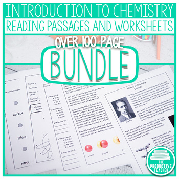 Introduction to Chemistry - Powerpoint Presentation and Sample Student Notes