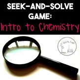 Seek-and-Solve Game: Introduction to Chemistry