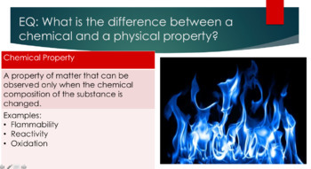 Introduction to Chemistry and Matter-Powerpoint, ISN inserts, and Mini-Lab