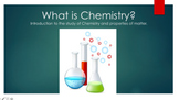 Introduction to Chemistry and Matter-Powerpoint, ISN inser