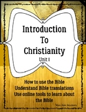Introduction to Christianity Unit 1 ELL ESL ESOL Religion Bible Teens