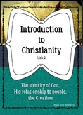 Introduction to Christianity Unit 2 ELL ESL ESOL Religion Bible Teens Creation