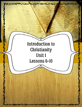 Introduction to Christianity for ELLs Unit 1 Lessons 6-10 Bible ESL ESOL ELL