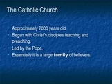 Introduction to Church History PowerPoint - The History and Mystery